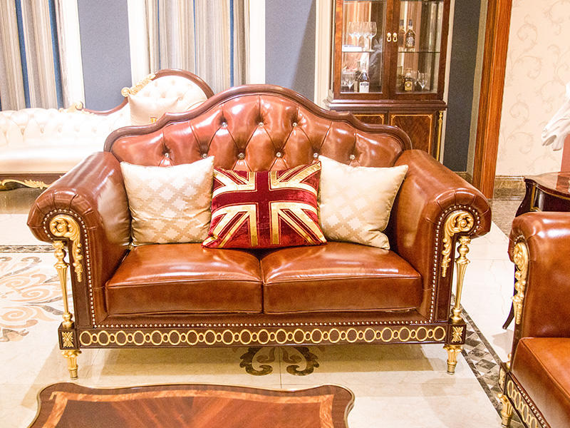 James Bond leather traditional couches manufacturer for home-1