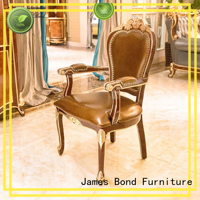 James Bond traditional dining room chairs manufacturer for restaurant