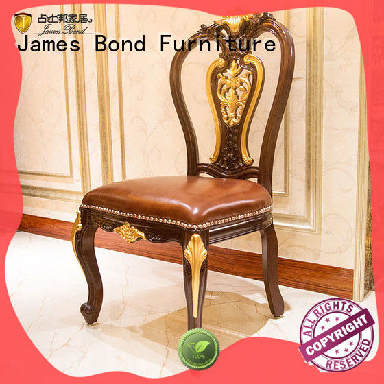 James Bond traditional dining chairs directly sale for villa