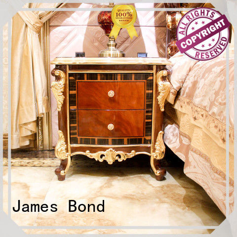 James Bond stable furniture bedside table factory direct supply for hotel