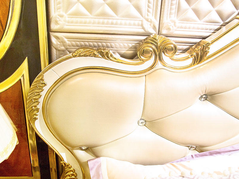 James Bond traditional bedroom furniture from China for apartment-3