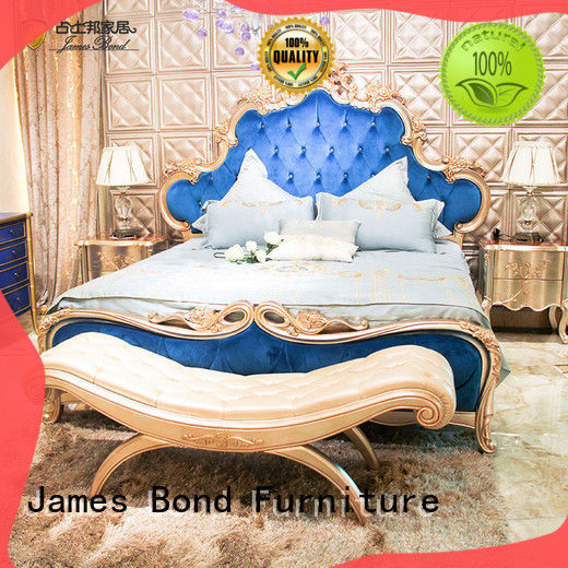 James Bond traditional bedroom sets factory price for home