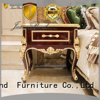 James Bond modern classic bedside table wholesale for villa