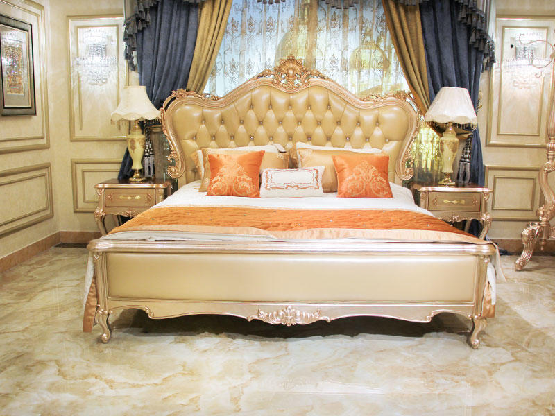 James Bond classical bed factory for villa-3