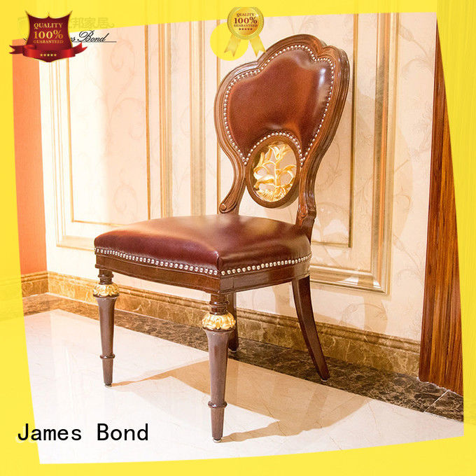 James Bond fashion traditional dining room chairs manufacturer for restaurant