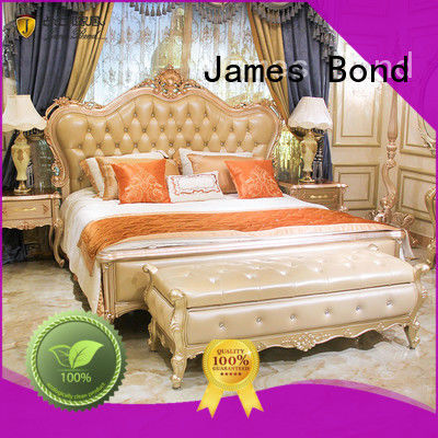 James Bond traditional bed designs supplier for hotel