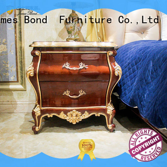 James Bond fashion furniture bedside table wholesale for home