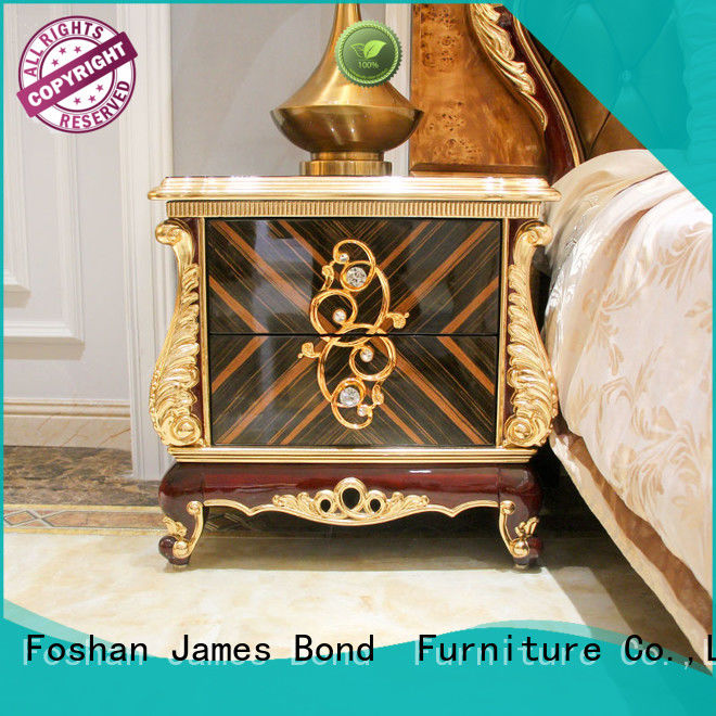 James Bond furniture bedside table supplier for apartment