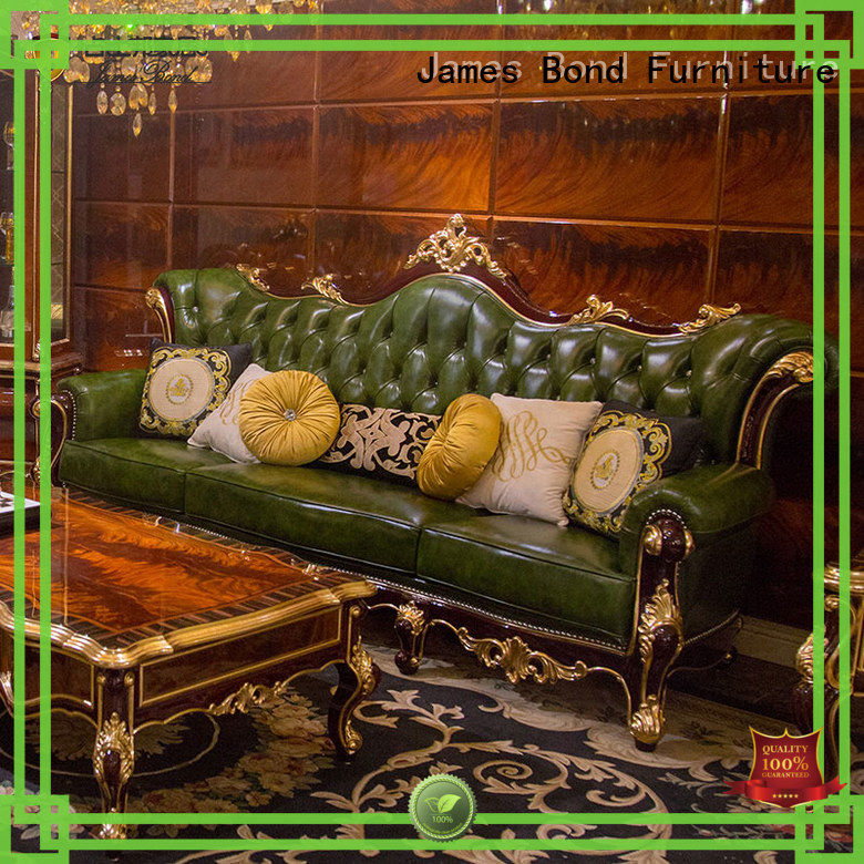 James Bond italian classic italian sofa factory direct supply for guest room