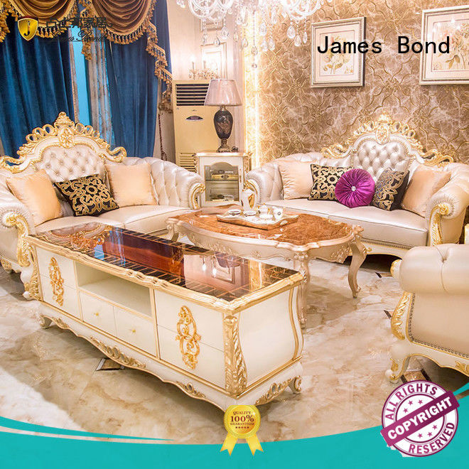 James Bond antique sofa series for church