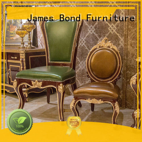James Bond high quality traditional dining room chairs from China for home