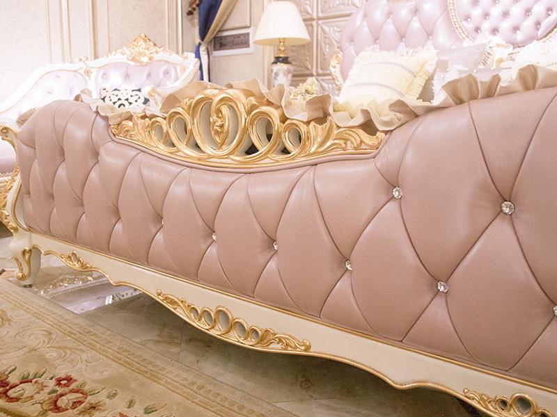 James Bond traditional bedroom furniture wholesale for villa-3