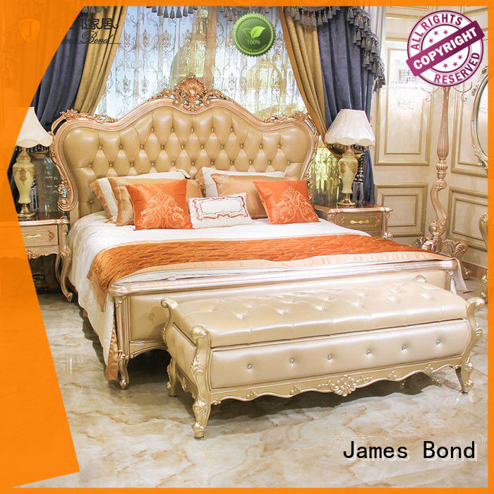 James Bond classic bedroom furniture supplier for apartment