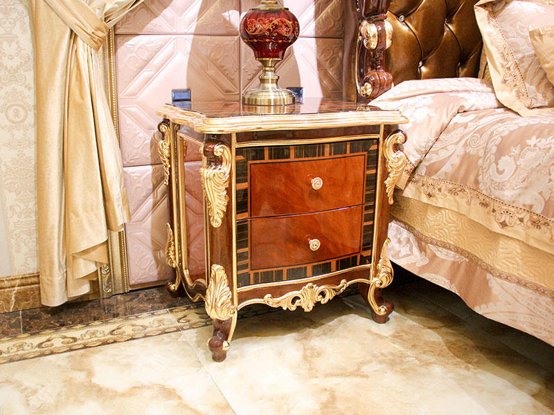 luxury furniture bedside table wholesale for apartment-2