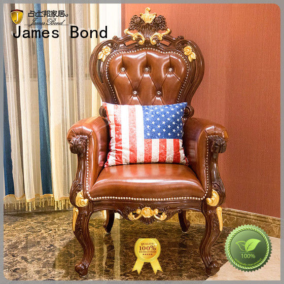 James Bond excellent Classical leisure chair for hotel