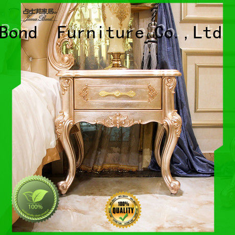 James Bond high quality furniture bedside table manufacturer for villa