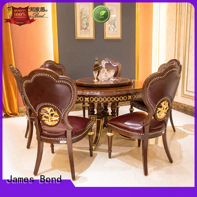 James Bond classical round dining table and solid wood  JP667