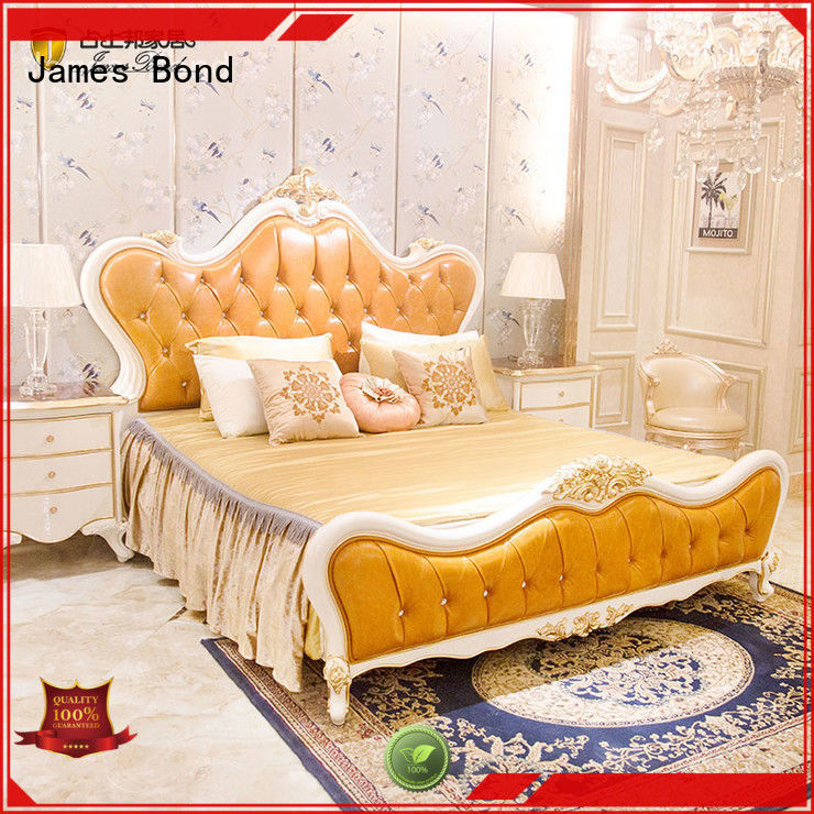James Bond gorgeous traditional bedroom furniture manufacturer for villa