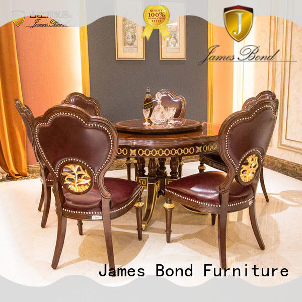 James Bond high quality classic dining furniture wholesale for villa