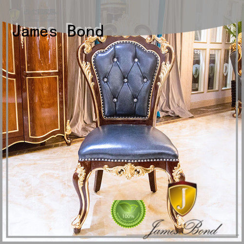 James Bond traditional dining chairs manufacturer for villa