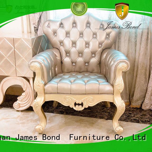 James Bond durable Classical leisure chair manufacturer for church