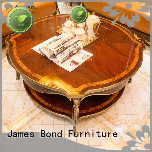 James Bond durable traditional coffee table sets manufacturer for guest room