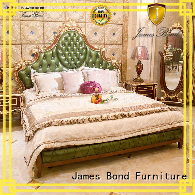 James Bond classical bed factory price for apartment