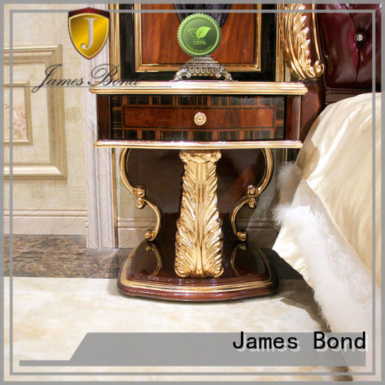 James Bond high quality Classical BedsideTable wholesale for apartment