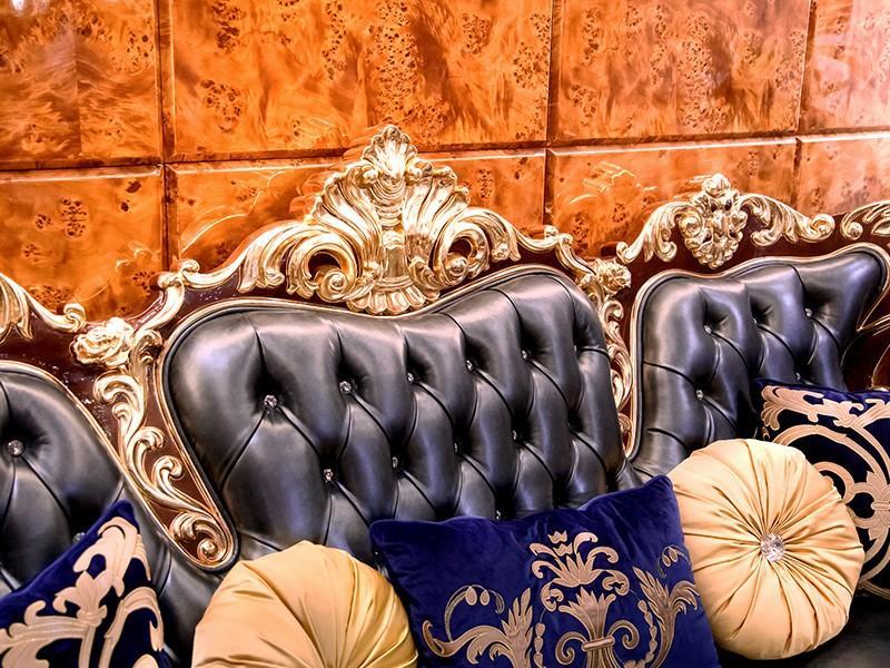 James Bond exquisite classic leather sofa supplier for restaurant-3