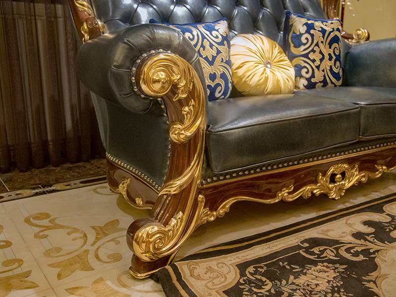 luxury classic leather furniture factory direct supply for church-2
